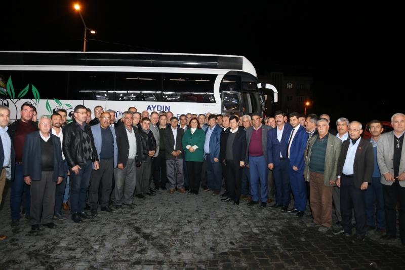 Başkan Çerçioğlu Çineli Muhtarlarla Buluştu