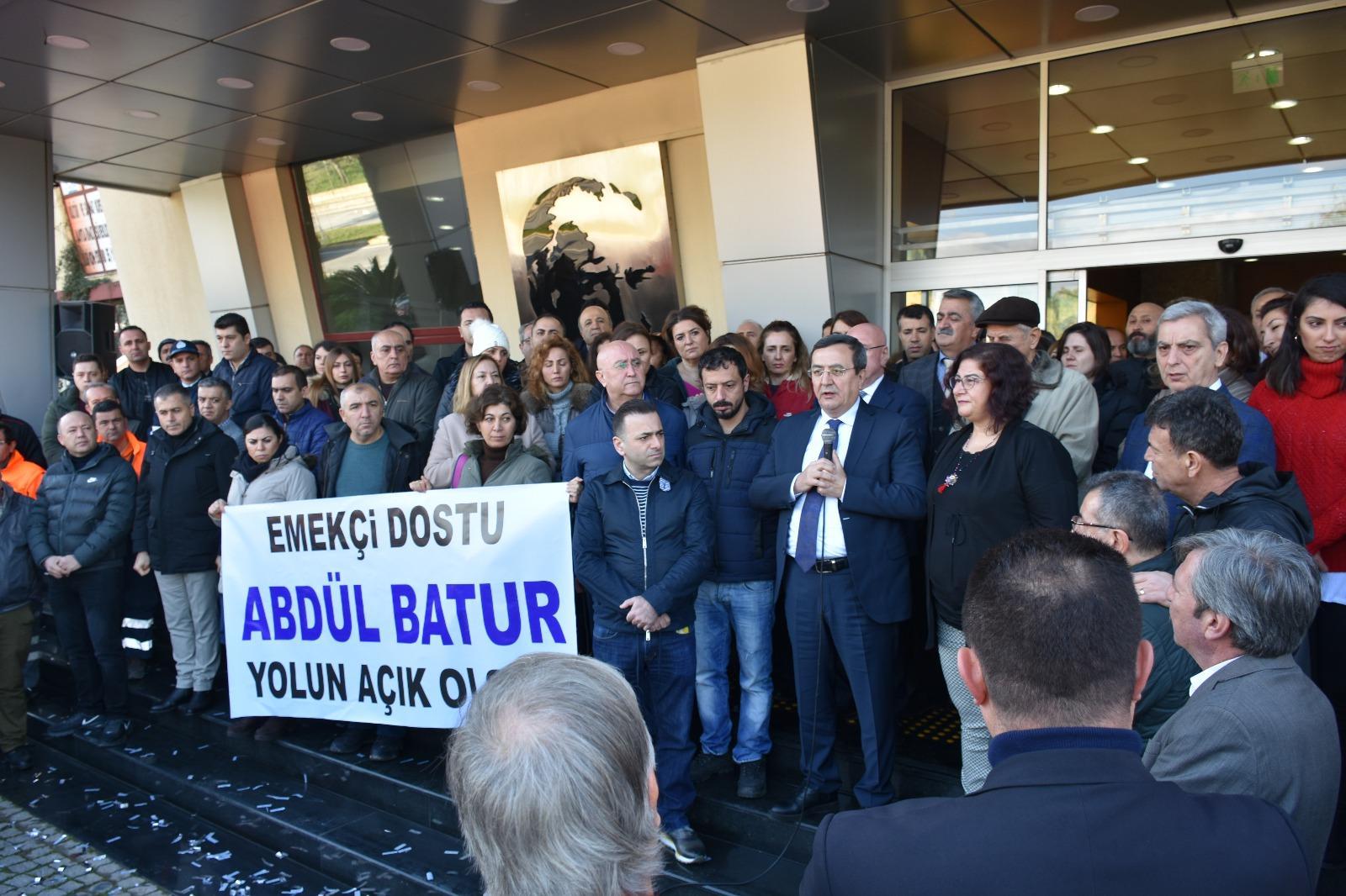 İzmir'in kalbi için Konak için çalışacağız