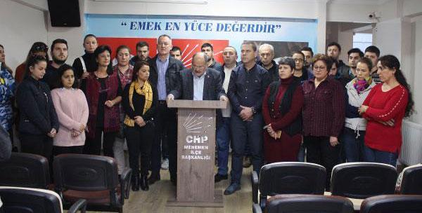 İzmir'in o ilçesinde CHP'de toplu istifa