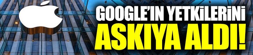 Dünya devi Google'ın yetkilerini askıya aldı!