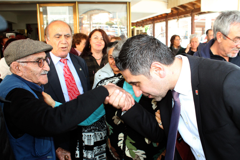 CHP'li Kayalar İlçeye barışı getireceğiz