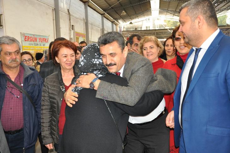 rnCHP'li Kırgöz'den Sahalarda Miting Etkisi