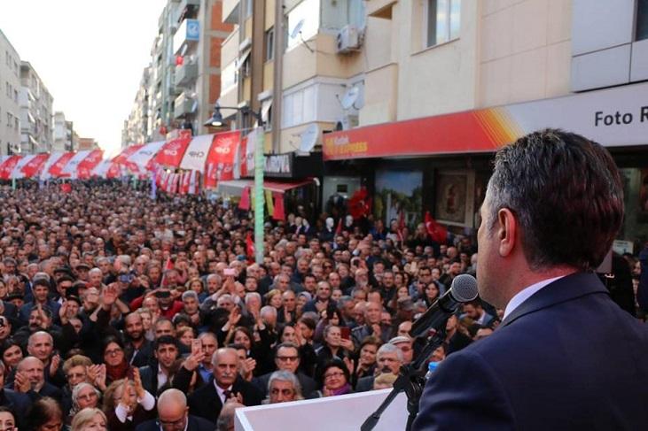 CHP'li SANDAL SEVGİYOLU'NA SIĞMADI
