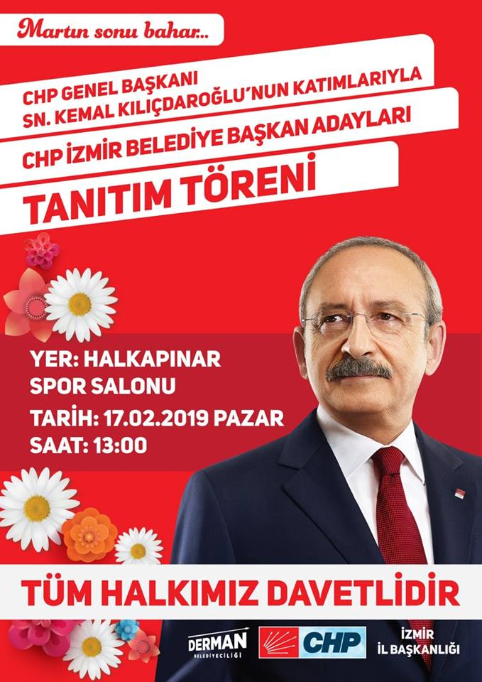 Kılıçdaroğlu, Pazar günü İzmir'de adayları tanıtacak