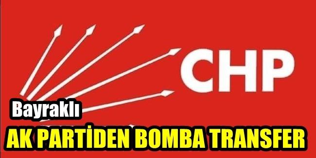 AK PARTİDEN CHP YE BOMBA TRANSFER İDDİASI !