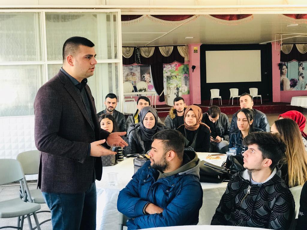 Başkan İnan: Gençler, geleceklerini düşünerek Sayın Zeybekci'yi tercih edecek