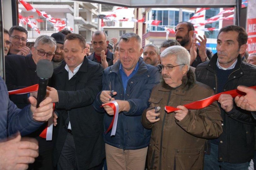 Serdar Aksoy, 3. seçim ofisini açtı