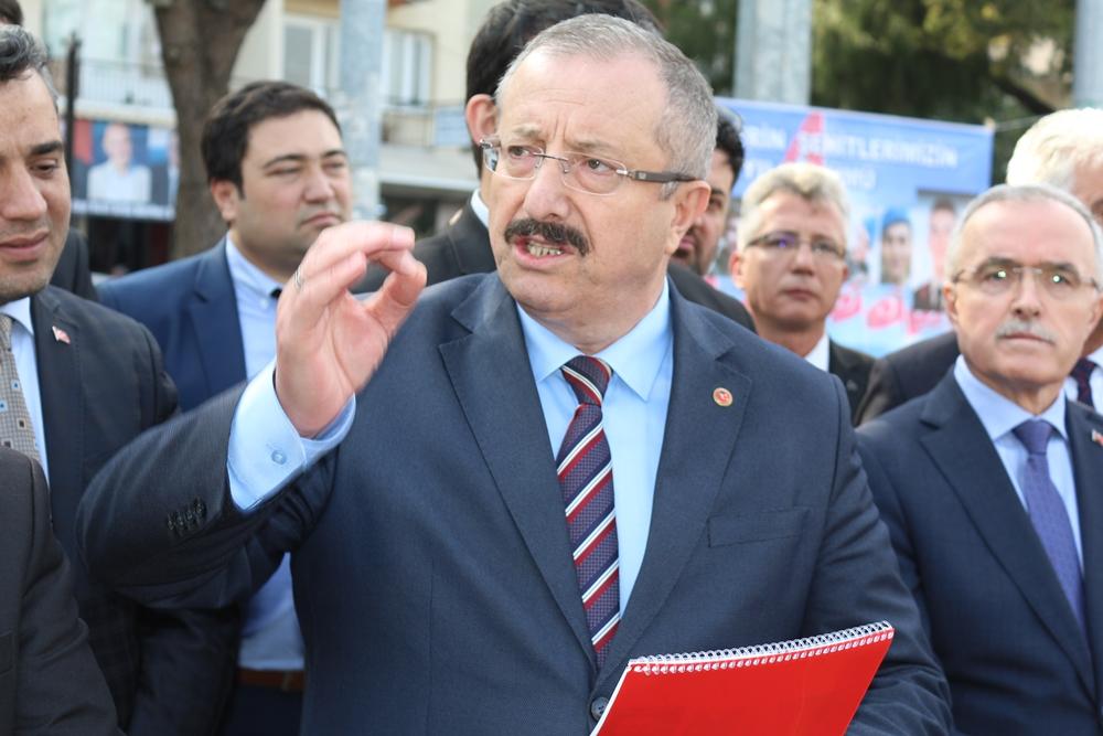 """YILMAZ """"GAZİEMİR'E HİZMET İÇİN YOLA ÇIKTIK"""""""
