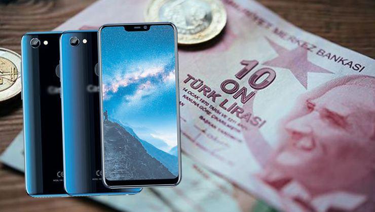 3500 liradan pahalı telefonun izahı yok