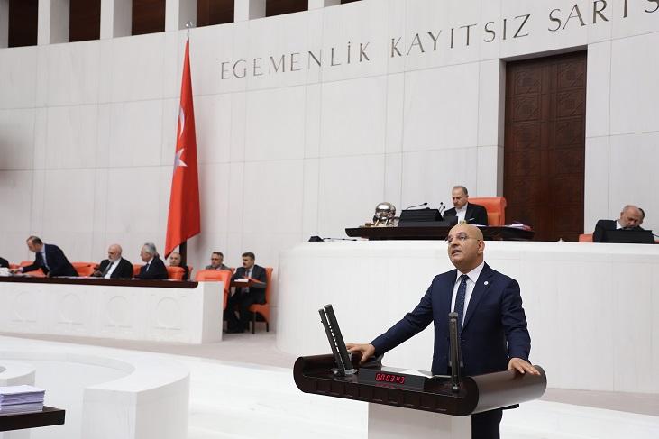 CHP'Lİ POLAT TARIM BAKANINDAN YANIT BEKLİYOR