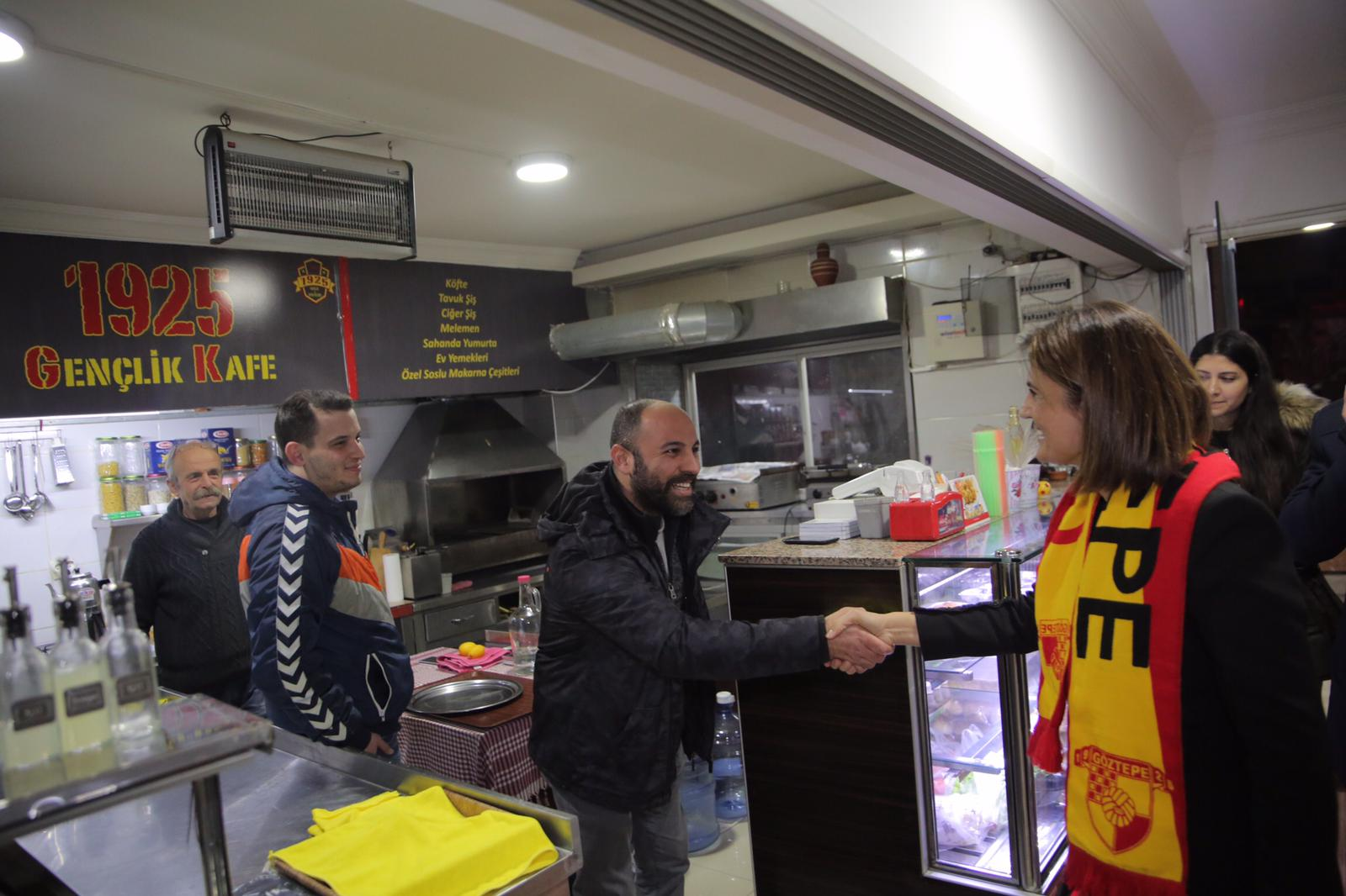 İzmir'in kalbi ve sembolüyüz