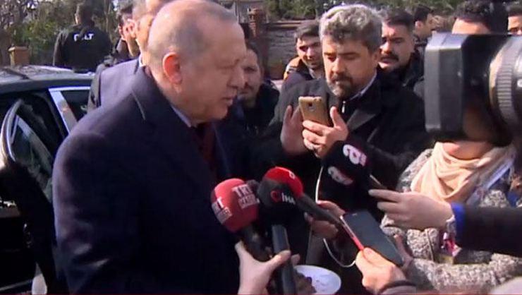 Cumhurbaşkanı Erdoğan'a İstanbul'da sürpriz doğum günü