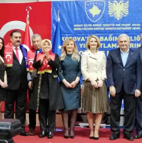 Binali Yıldırım'dan Rifat Sait'e Kosova desteği
