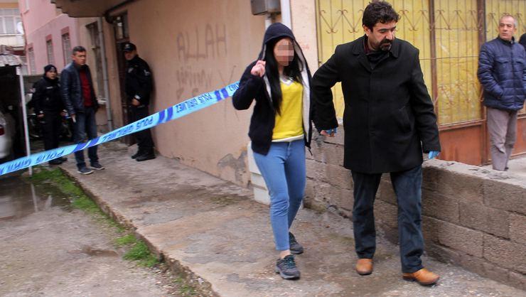 İzinde geldiği evinde öldürülen hükümlünün eşi gözaltına alındı