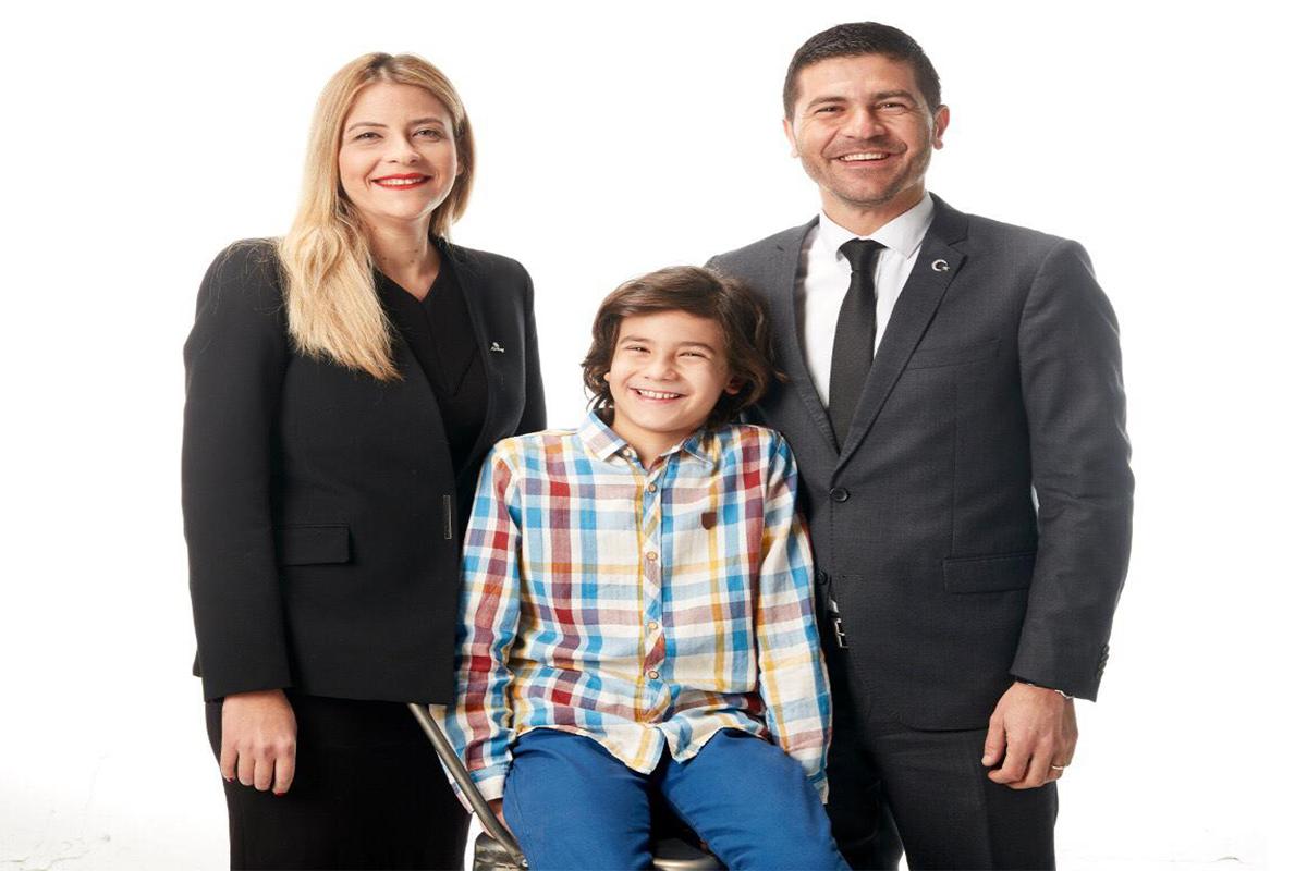 Fatih Gürbüz ve ailesi çifte sevinç yaşıyor