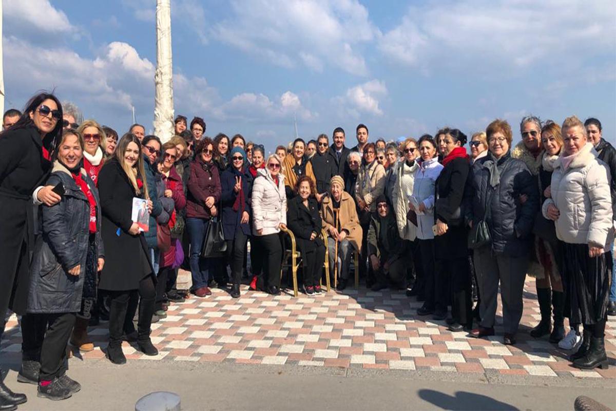 Gürbüz, CHP'li kadınların kahvaltı etkinliğine katıldı
