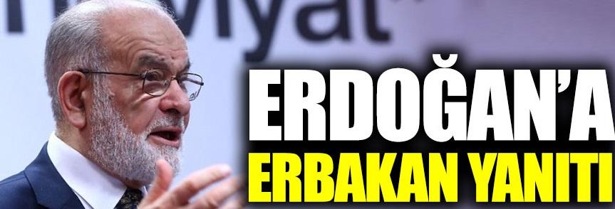Temel Karamollaoğlu'ndan Erdoğan'a Erbakan yanıtı!
