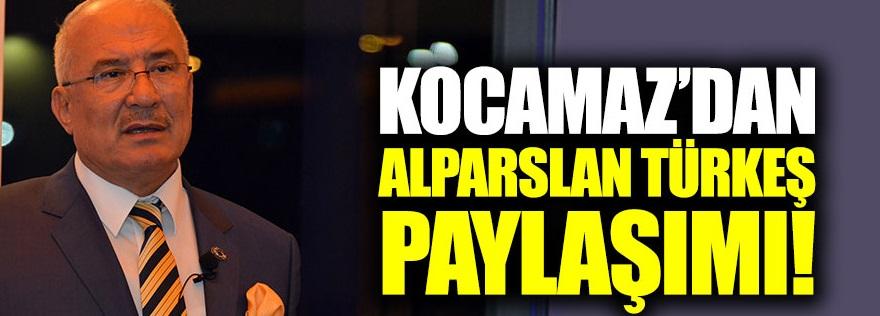 Burhanettin Kocamaz'dan Alparslan Türkeş paylaşımı