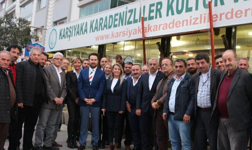 Cumhur İttifakı'ndan Karadeniz Derneği'ne Ziyaret