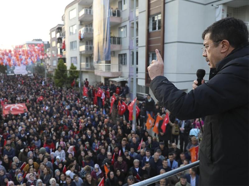 Zeybekci:Vatandaş gerekli cevabı verecek