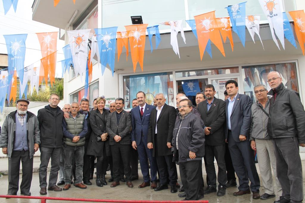 Cumhur İttifakı Karşıyaka'da Çalışmalarına Hız verdi
