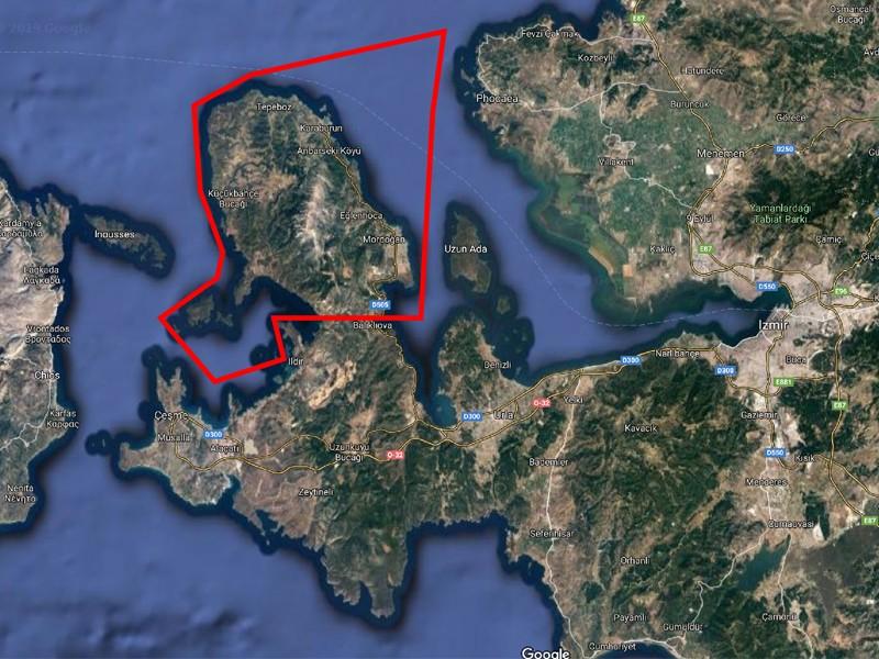 Zeybekci'nin İzmir'e ilk armağanı KARABURUN'DA ÇEVRE ZAFERİ