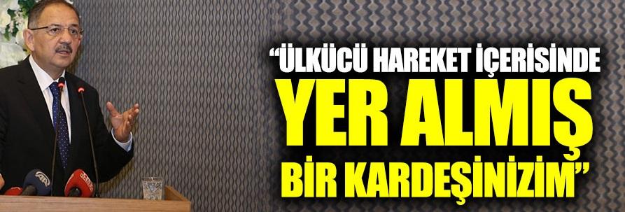 """Özhaseki: """"Ülkücü hareket içerisinde yer almış bir kardeşinizim"""""""