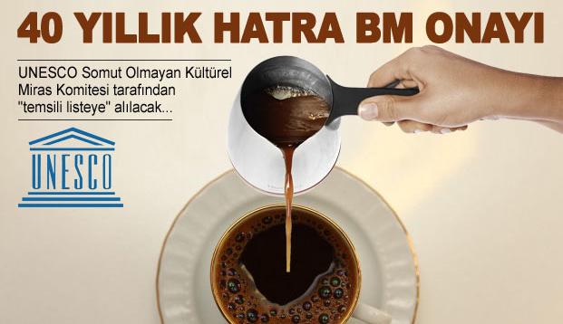 Türk kahvesine UNESCO koruması