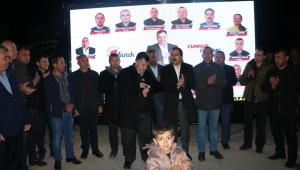 AK Partili Kırkpınar, Kınık ve Bergama'da
