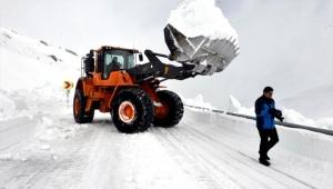 Ardahan'da Kar Nedeniyle 4 Aydır Kapalı Olan Yol Ulaşıma Açılıyor
