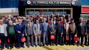 Başkan Uğurlu, STK temsilcileri ve muhtarlarla bir araya geldi