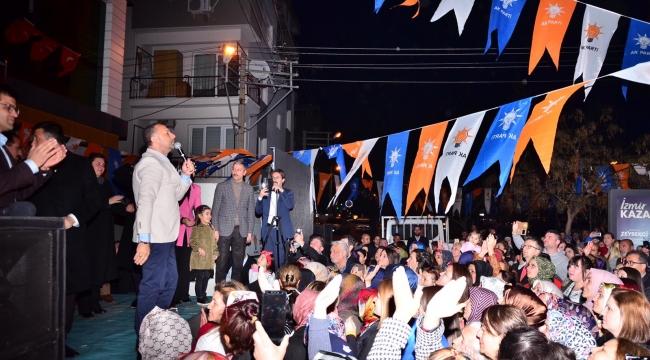 """BAYRAKLI'DA """"ASLAN GİBİ"""" AÇILIŞ"""