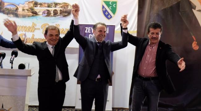 Gençtürk'e Balkan göçmenlerinden tam destek