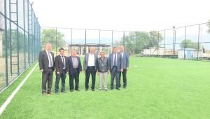 Ödemiş Belediyesi 4 Yeni Halı Sahayı Hizmete Sunuyor