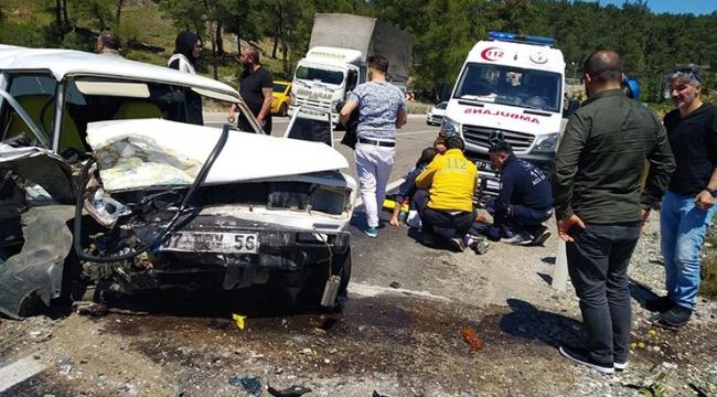 Antalya'da feci kaza! Çok sayıda yaralı var