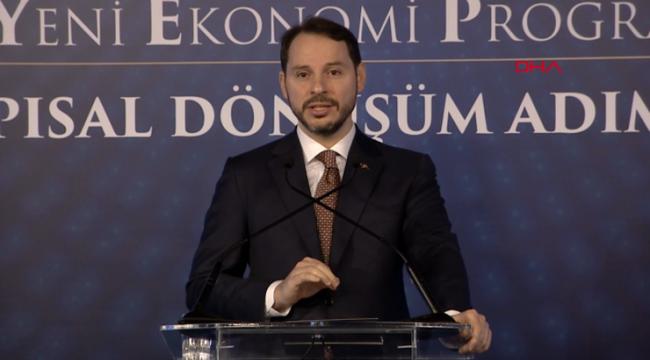 Bakan Albayrak'tan ekonomiyle ilgili çok önemli açıklamalar