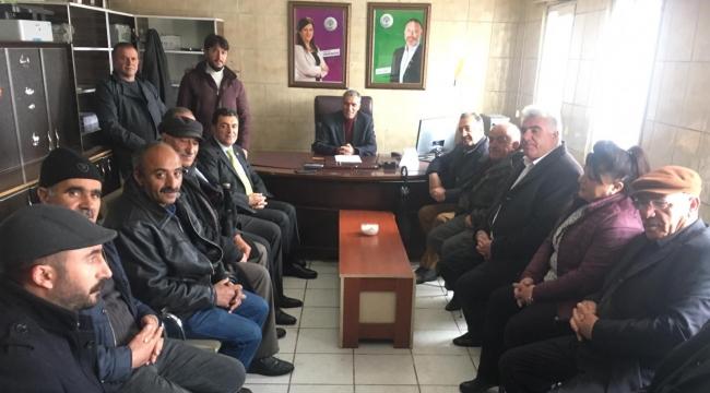 FARUK DEMIR'DEN HDP'YE ÖNCE ZİYARET SONRA TEŞEKKÜR