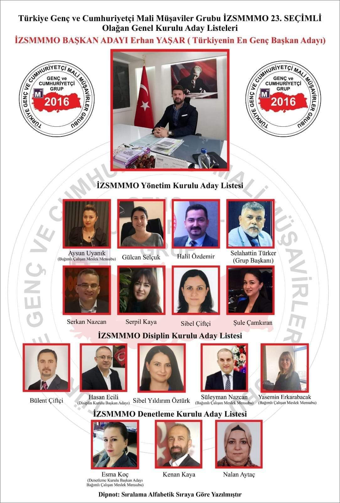 İzmir Mali Müşavirler Odası'na en genç aday