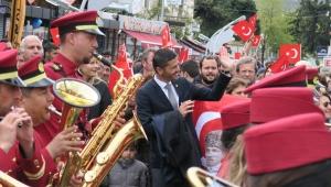 Ulu Önder Atatürk'ün Foça'ya gelişinin 85. Yıldönümü, büyük coşku ve gururla kutlandı
