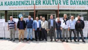 Karşıyaka Karadenizliler Derneği İhtiyaç Sahiplerini Ramazan'da Yalnız Bırakmadı