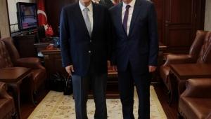 Başkan Mehmet Eriş, Vali Erol Ayyıldız'ı Ziyaret Etti
