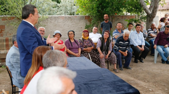 Batur'dan Honaz'a destek ziyareti