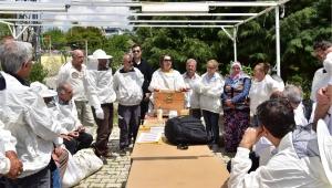 Bornova Belediyesi'nden yeni arıcılara tam destek