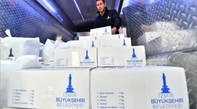 İzmir Büyükşehir Belediyesi'nden Ramazan dayanışması
