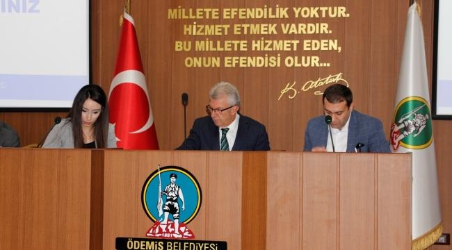 Ödemiş Belediye Meclisinin Mayıs Toplantısı Yapıldı