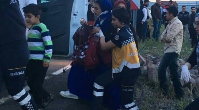 Aradahan'da 1 Kadının öldüğü AYNI YERDE YİNE TRAFİK KAZASI!