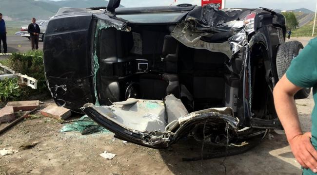 Ardahan'da trafik kazası: 6 yaralı