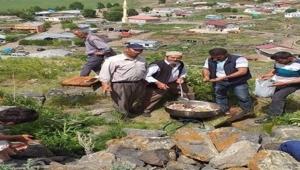 Ardahan'lı köylüler yağmur duasına çıktılar.