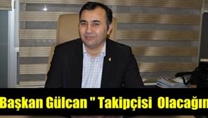 Başkan Gülcan'dan mağaza yönetimine