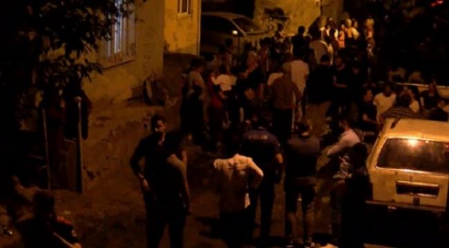 Fikirtepe'de iki aile arasındaki kavgada ev yakıldı